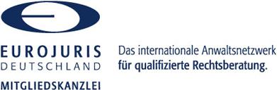 Mitgliedskanzlei der Eurojuris Deutschland - Das internationale Anwaltsnetzwerk für qualifizierte Rechtsberatung